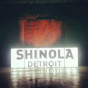 EARS & EYES x SHINOLA x A N Y