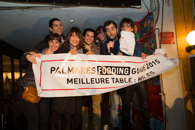 EARS & EYES x LE FOODING x REMISE DES PRIX GUIDE FOODING 2015